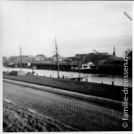 Büsum - Hafenbecken II (noch ohne Alleebäume)