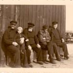 Büsum - Am Hafen 1941