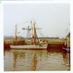 Kutter im Büsumer Hafen
