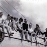 Büsum - Kutter im Watt 1959