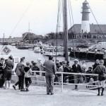 Büsum - Kutterregatta (am alten Hafen - heute Museumshafen - 1963)