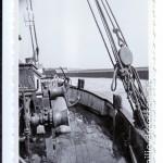 Büsum - Einfahrt in die alte Schleuse 1953